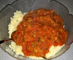 Buntes Gemüse Allerlei mit Couscous