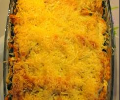 Wildlachs - Lasagne mit Blattspinat