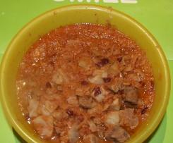 Low-Carb - Oldman´s Stew (Weißkohl-Lamm-Eintopf)