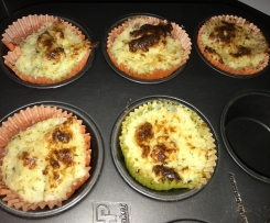 Blumenkohl Muffins Low Carb auch prima für Kinder