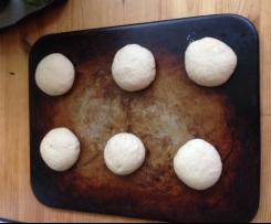 Variation Brötchen und Brotstangen