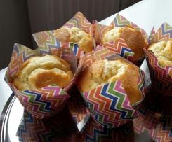Spanische Zitronen Muffins (Magdalenas)