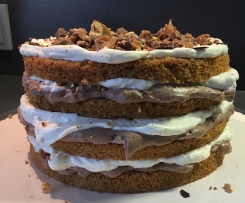 "Toffifee-Torte ""Naked Cake"""