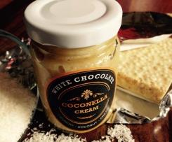 COCONELLA - White Chocolate - Crunchy - Coconut Cream