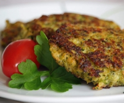 Brokkoli-Frikadellen, Brokkoli-Bratlinge, vegetarisch