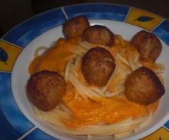 Spaghettoni alla Karlson vom Dach