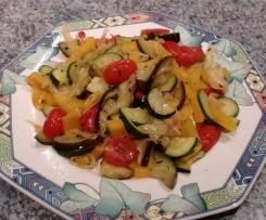 Antipasti, Gemüse aus dem Varoma, auch zum grillen