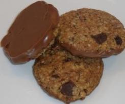 Schwedische dreifach-Schoko-Haferkekse (Chokladbegär)