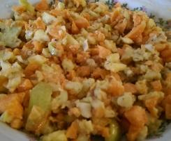Fitness-Salat mit Mandeln