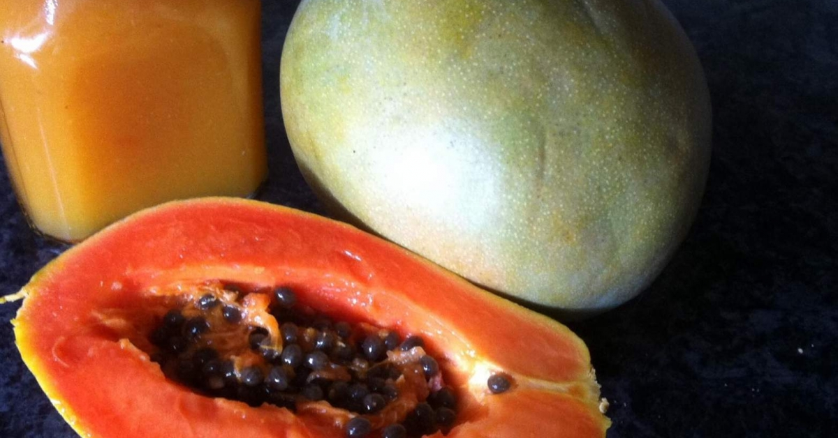 samtige papaya mango marmelade. Black Bedroom Furniture Sets. Home Design Ideas