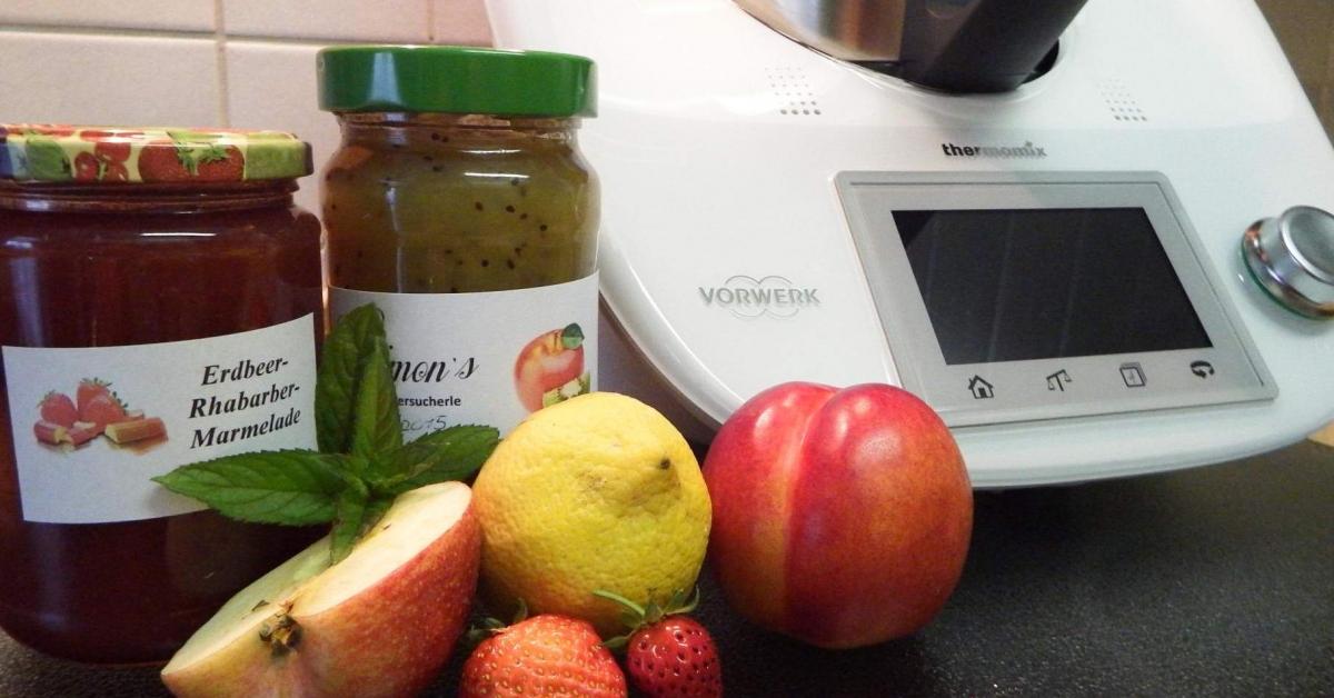 Marmelade thermomix ohne gelierzucker