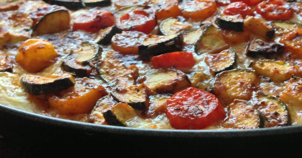 variation von mediterane tomate mangold quiche. Black Bedroom Furniture Sets. Home Design Ideas