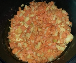 Möhrensalat mit Sesam
