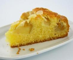 Apfel-Sandkuchen (Kastenform groß)