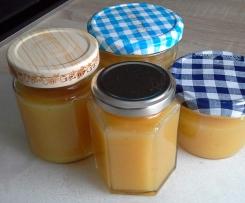 Bananen-Mango-Birnen-Marmelade