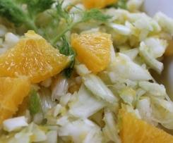 Fenchelsalat mit Orangen - vegan -