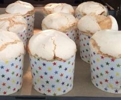 Rhabarber-Muffins - Variation von Rhabarberkuchen mit Baiser