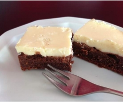 Choco-Cheese-Brownies (Schoko-Käse-Brownies)