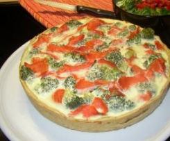 WW Broccoli-Lachs-Quiche